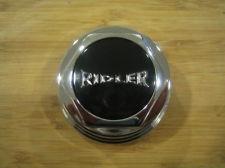 Ridler 675 5 Spoke Chrome Wheel Rim Snap In Center Cap C10675